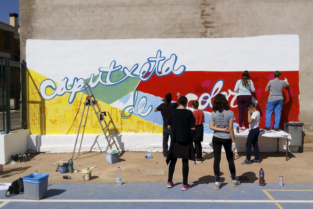 taller mural participativo valencia