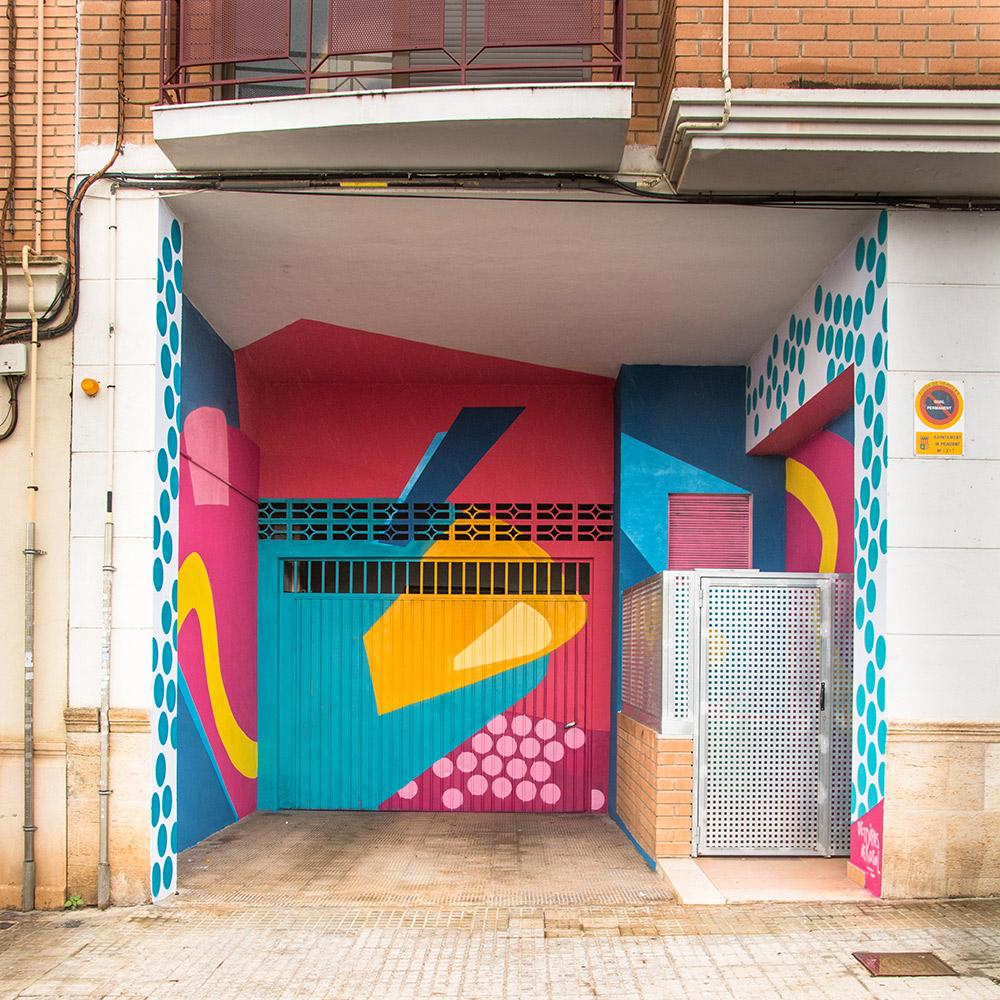 mural decorativo street art valencia